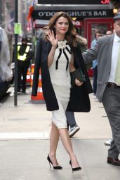 Keri Russell - Outside GMA in NYC 3/25/2019