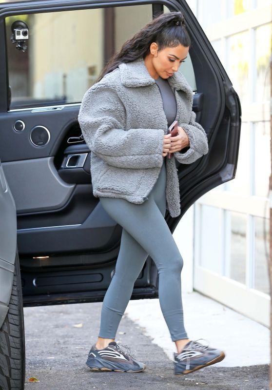 Kim Kardashian – Head to Dinner in West Hollywood 03/21/2019