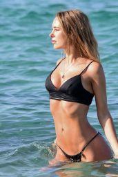 Kimberley Garner  in Bikini on the Beach in Miami 03/13/2019
