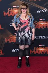"Kirsten Vangsness – ""Captain Marvel"" Premiere in Hollywood"