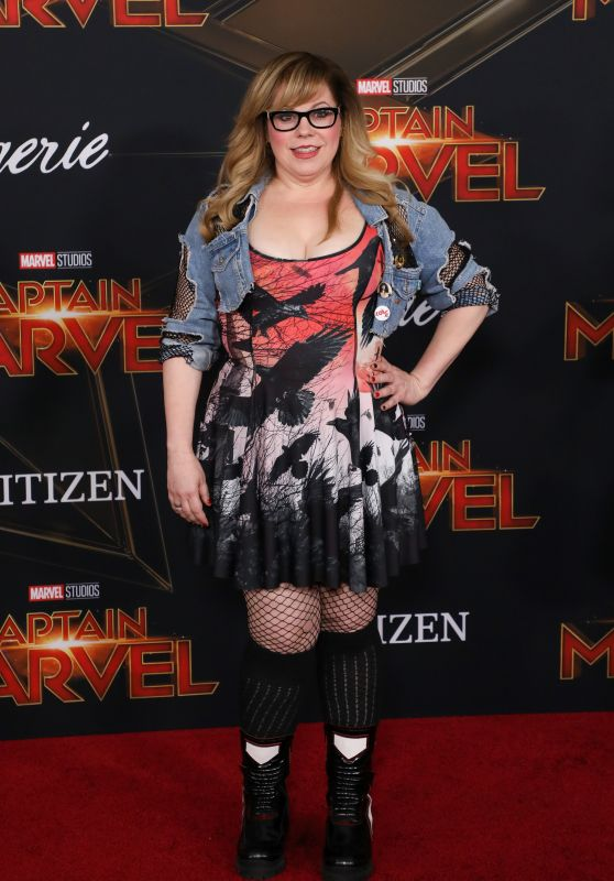 "Kirsten Vangsness – ""Captain Marvel"" Premiere in Hollywood"
