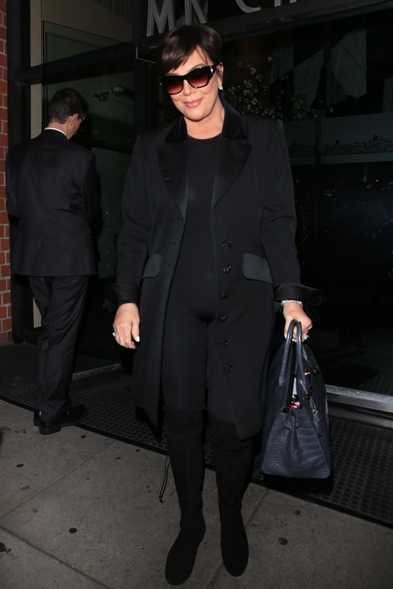 Kris Jenner Style Leaving Kathy Hilton S Birthday Party