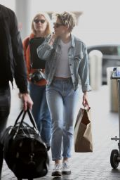 Kristen Stewart at LAX Airport in LA 03/03/2019
