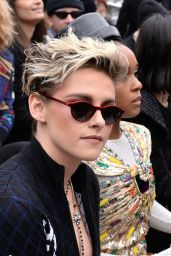 Kristen Stewart – Chanel Fashion Show in Paris 03/05/2019