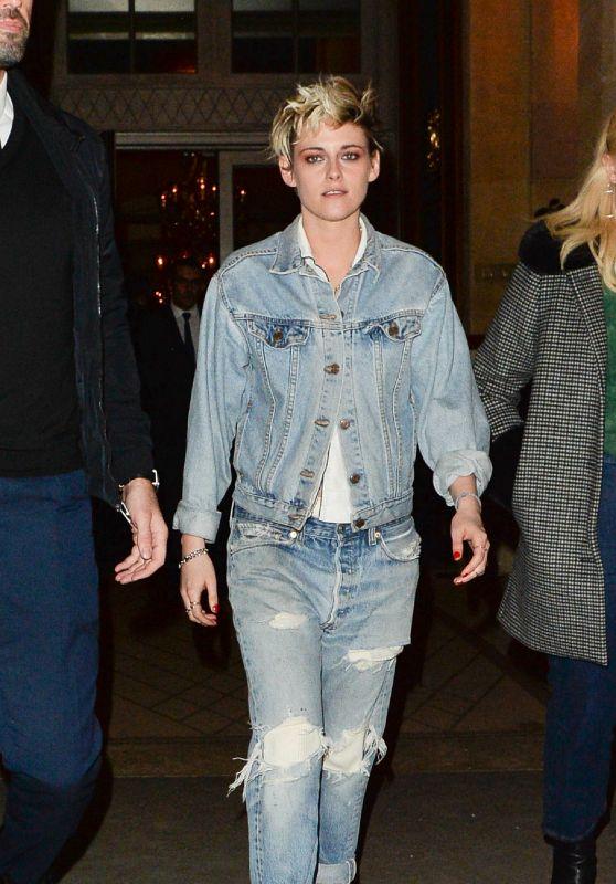 Kristen Stewart - Leaving the Louis Vuitton After Party in Paris 03/05/2019