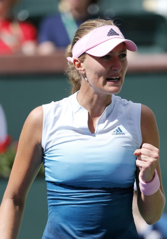 Kristina Mladenovic – Indian Wells Masters 06/03/2019
