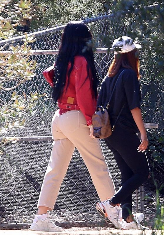 Kylie Jenner - Leaving Kanye West