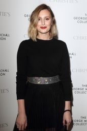 Laura Carmichael – The George Michael Collection VIP Reception at Christies in London 03/12/2019
