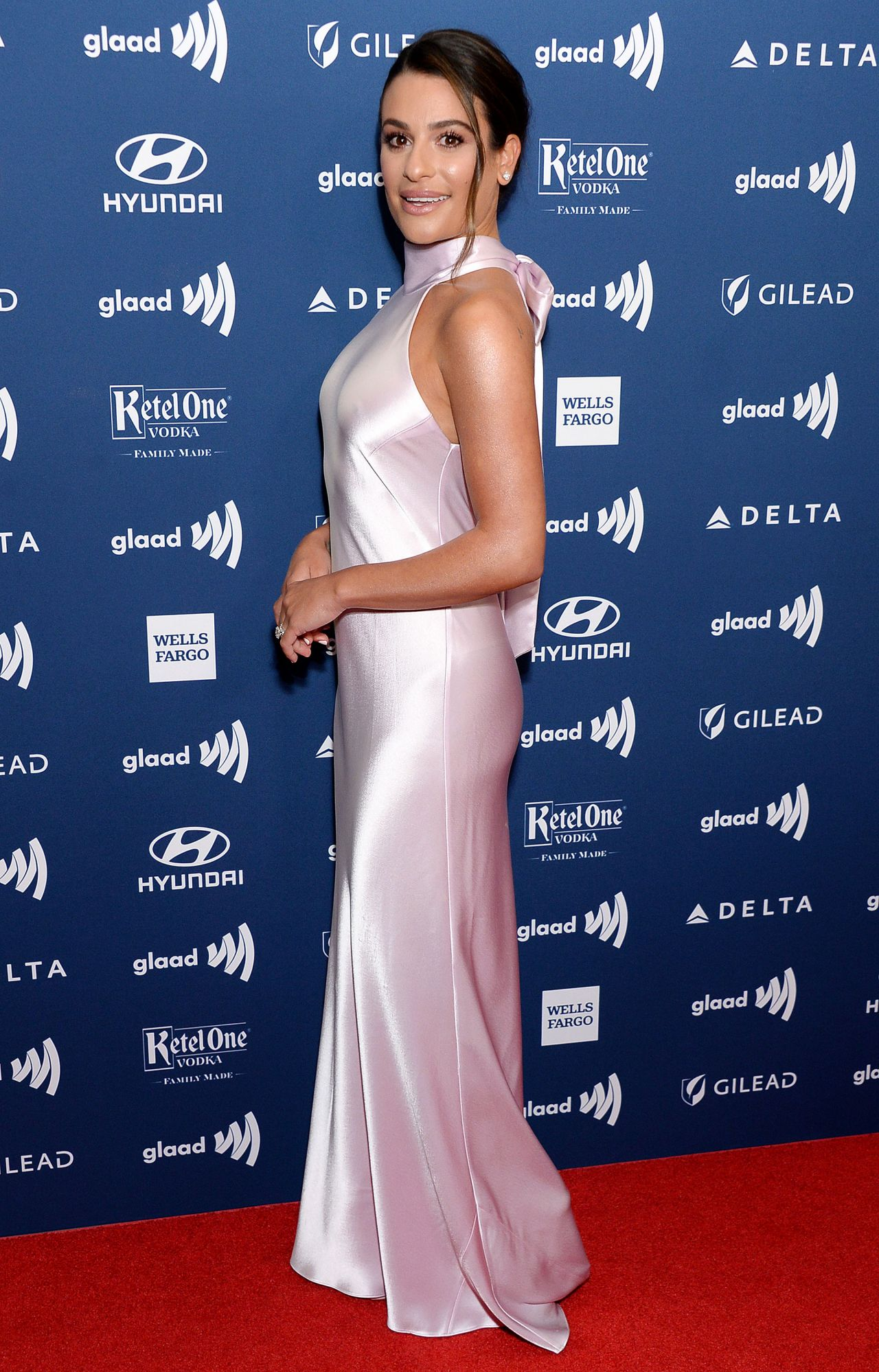 Lea Michele 2019 Glaad Media Awards In Beverly Hills