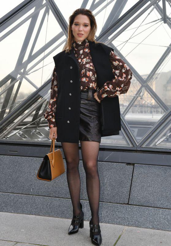 Lea Seydoux – Louis Vuitton Fashion Show in Paris 03/05/2019