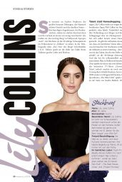 Lily Collins - Moments April 2019