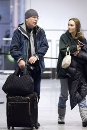 Lily-Rose Depp - Arriving in Montreal Canada 03/12/2019