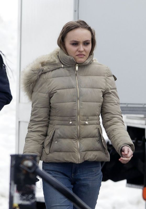 "Lily-Rose Depp - ""Dreamland"" Set in Montreal 03/15/2019"