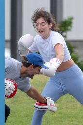Lorde - Boxing Class in Auckland 02/23/2019