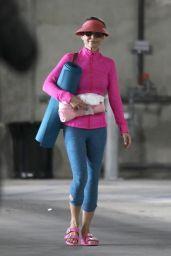 Lori Loughlin in Leggings - Out in Westwood 03/30/2019