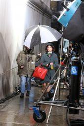 """Lucy Hale - """"Katy Kenee"""" Set in NYC 03/21/2019"""