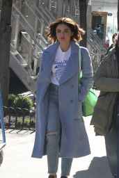 Lucy Hale - Out in NYC 03/19/2019