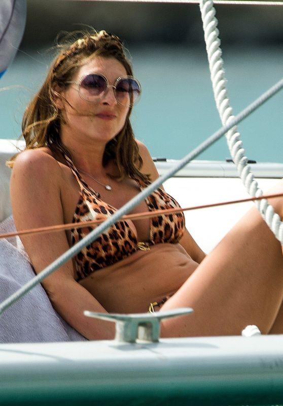 Luisa Zissman in Bikini on a Yacht in Barbados 03/16/2019