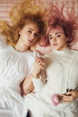 Maisie Williams and Sophie Turner - Rolling Stone Magazine April 2019