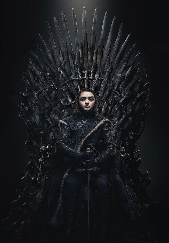 Maisie Williams – Game of Thrones Season 8 Promo Photos