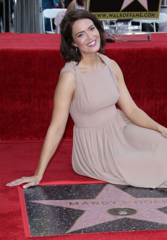 Mandy Moore - Honored With a Star on the Hollywood Walk of Fame 03/25/2019