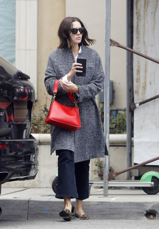 Mandy Moore Style - Out in West Hollywood 03/22/2019