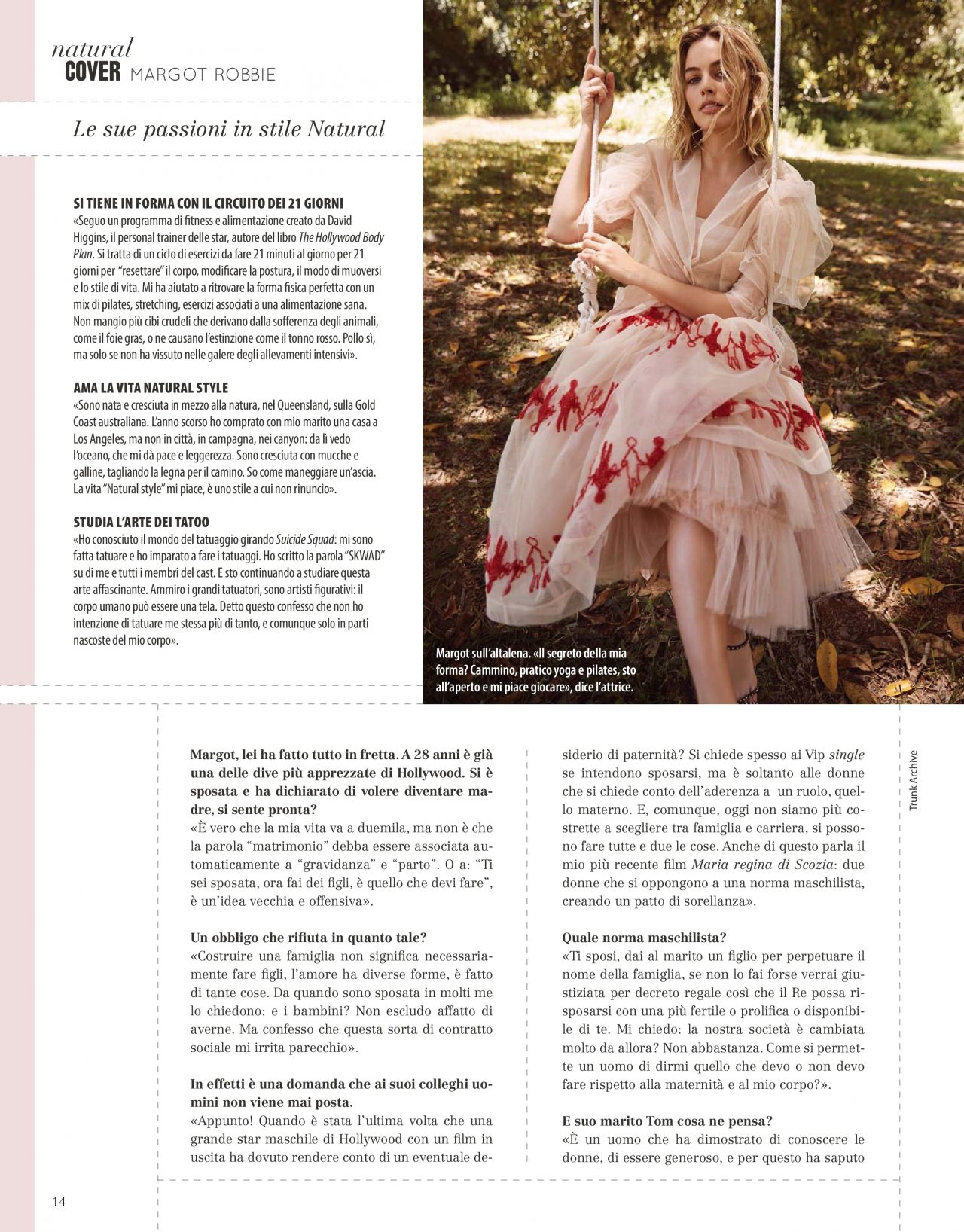 Margot Robbie - Natural Style March 2019