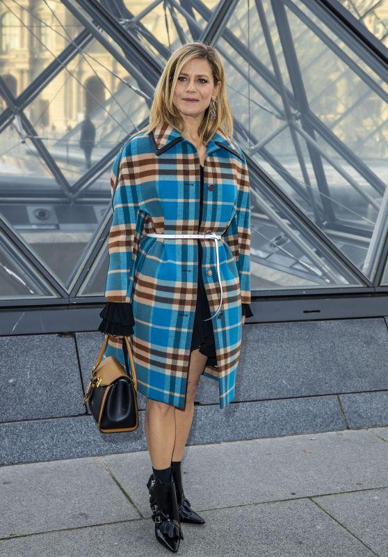 Marina Fois – Louis Vuitton Fashion Show in Paris 03/05/2019