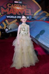 "Mckenna Grace – ""Captain Marvel"" Premiere in Hollywood"