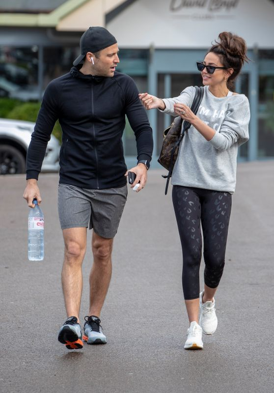 Michelle Keegan - Arriving For Gym Session in Essex 02/28/2019