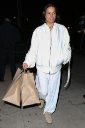 Michelle Rodriguez - Picks Up Dinner at Giorgio Baldi in Santa Monica 03/12/2019