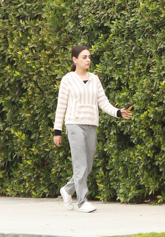 Mila Kunis - Out in LA 02/27/2019