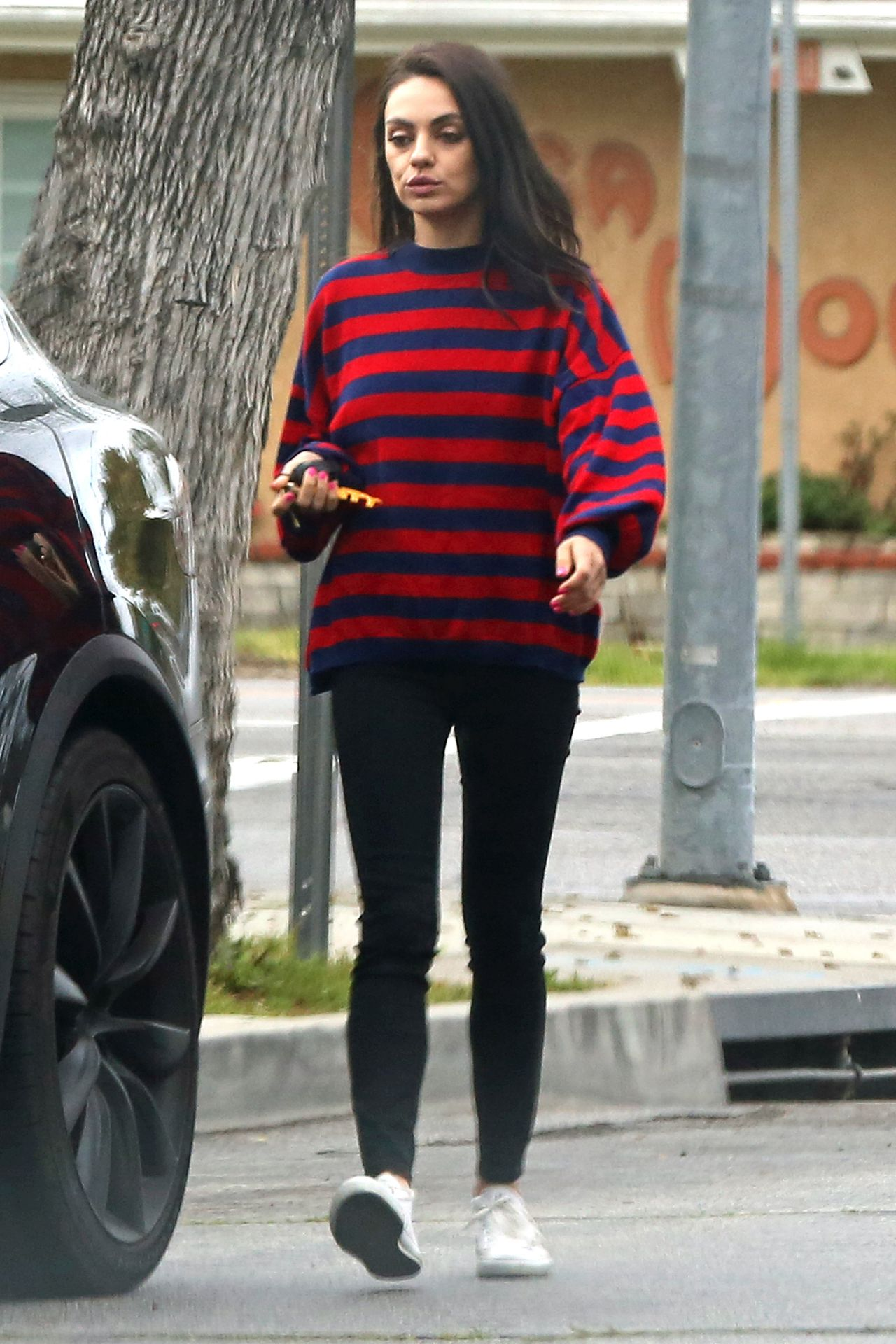mila kunis street style out in los angeles 03212019