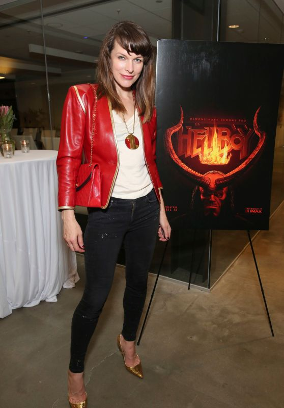Milla Jovovich - Hellboy Trailer #2 Event in LA