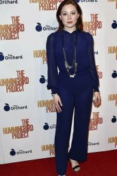 Mina Sundwall - The Hummingbird Project Screening in NY