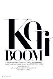 Miranda Kerr - InStyle Magazine US April 2019 Issue
