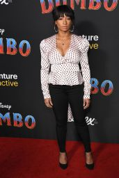 """Monique Coleman - """"Dumbo"""" World Premiere in Hollywood"""