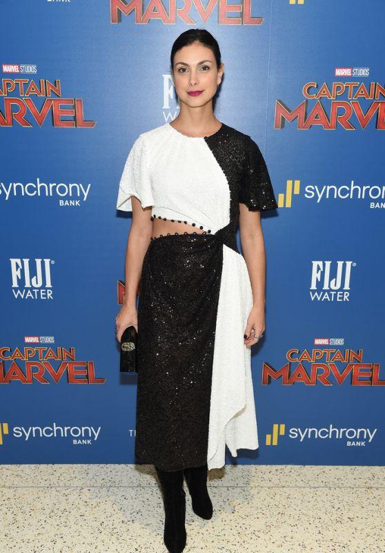 "Morena Baccarin – ""Captain Marvel"" Screening in NYC"