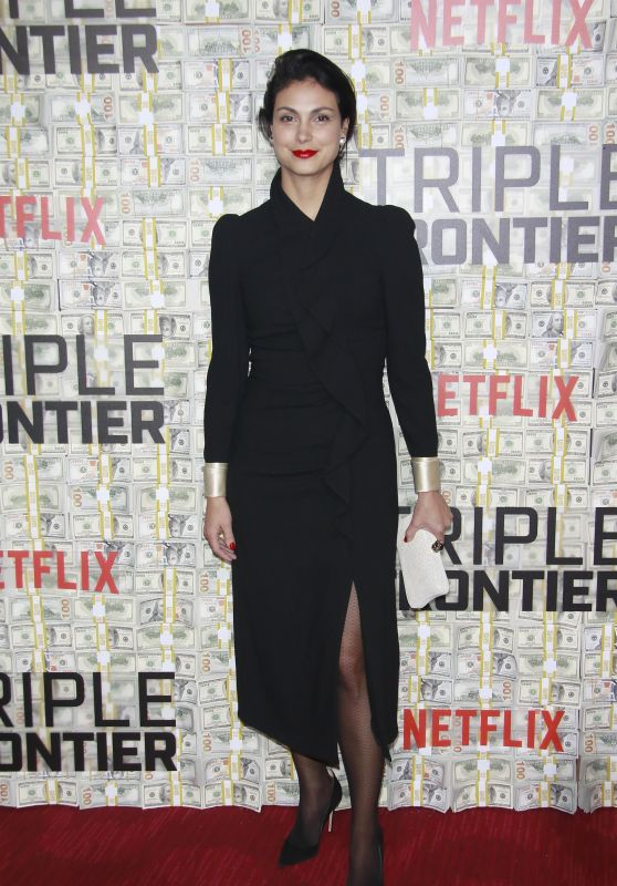 """Morena Baccarin – """"Triple Frontier"""" World Premiere in NYC"""