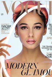 Naomi Scott - Vogue UK April 2019