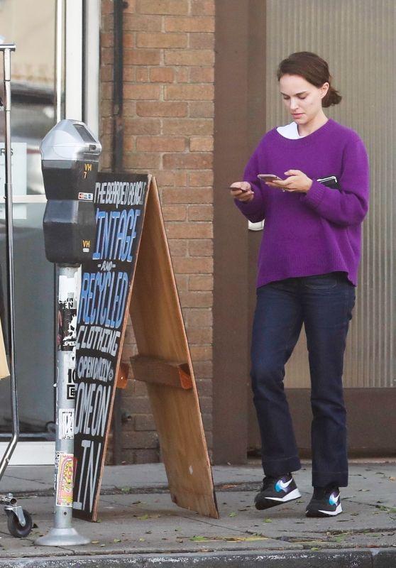Natalie Portman - Out in Los Feliz 03/19/2019