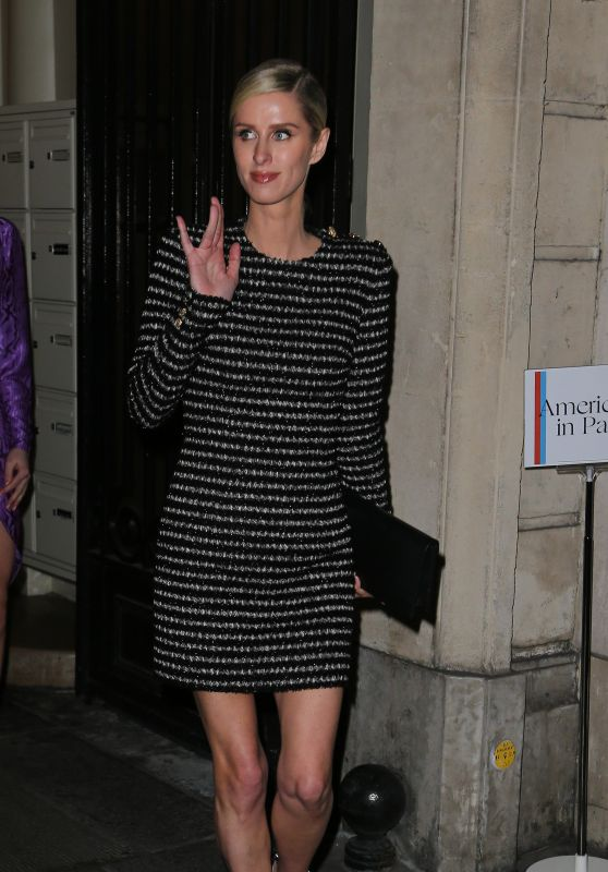 Nicky Hilton - Arriving at the Vogue Party in Paris 03/03/2019