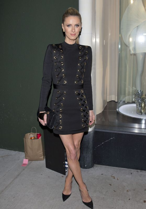 Nicky Hilton – Leaving Balmain Store in West Hollywood 03/14/2019
