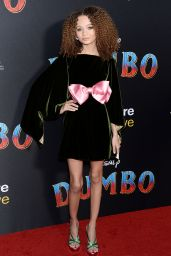 """Nico Parker – """"Dumbo"""" World Premiere in Hollywood"""