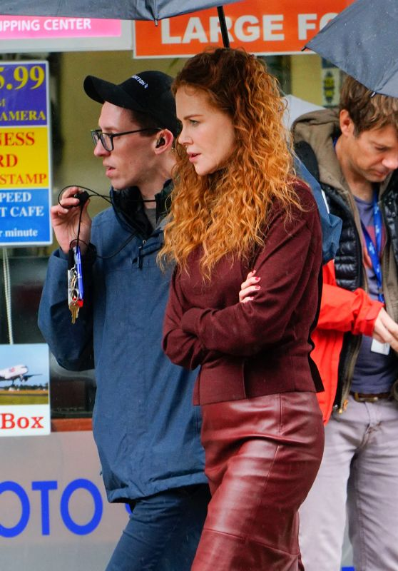 "Nicole Kidman - ""The Undoing"" Set in New York City 03/21/2019"