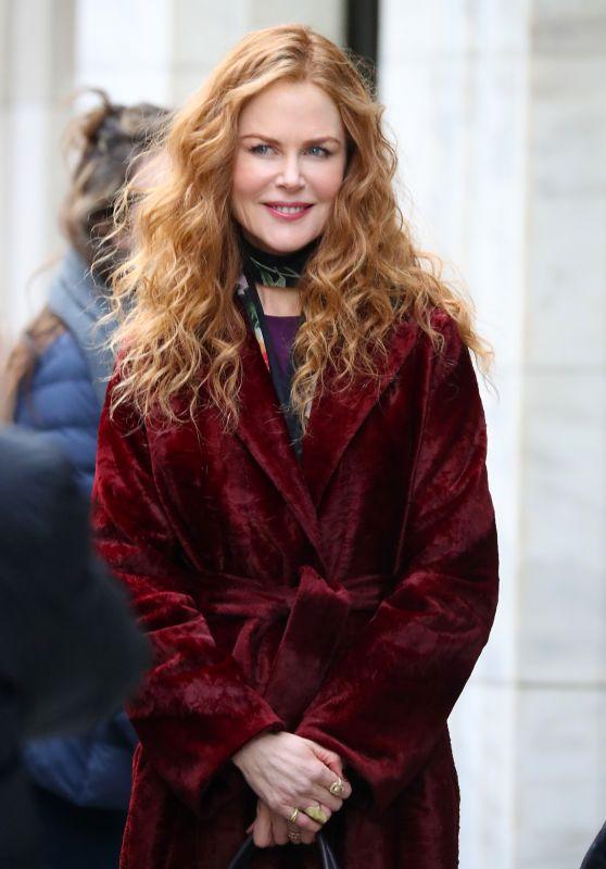 "Nicole Kidman - ""The Undoing"" Set in NYC 03/14/2019"