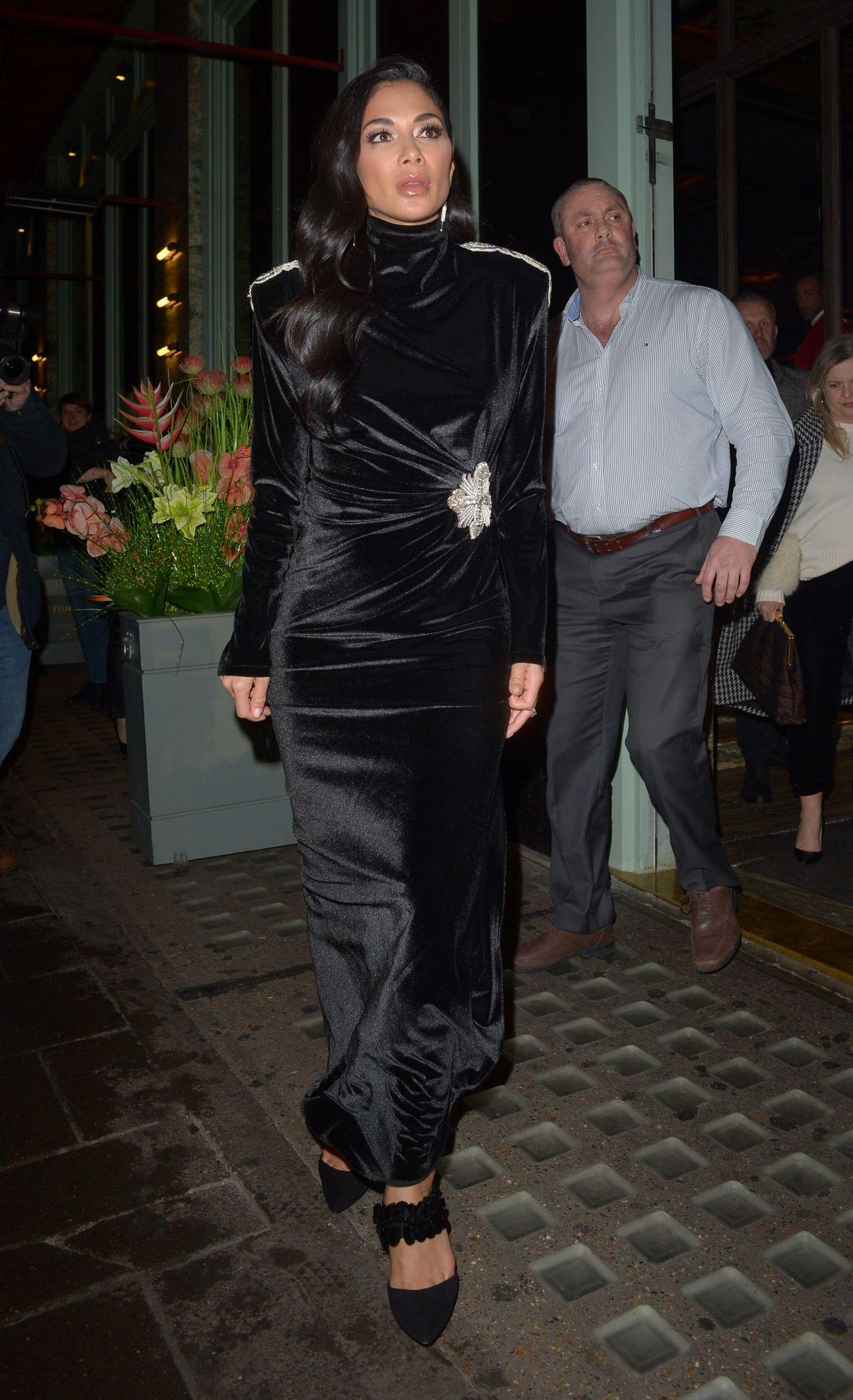Nicole Scherzinger - Sexy Fish Restaurant In London 03052019-5774