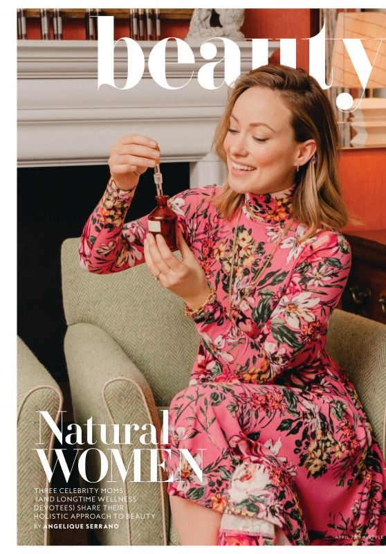 Olivia Wilde - InStyle Magazine April 2019 Issue