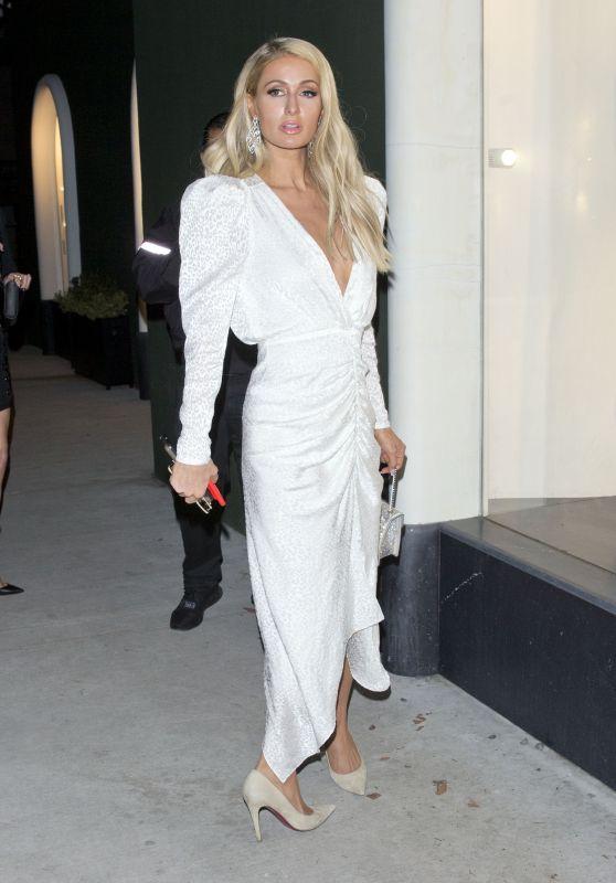 Paris Hilton - Leaving Balmain Store in West Hollywood 03/14/2019