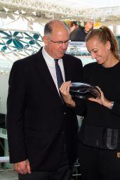 Petra Kvitova - Receives the WTA Karen Krantzcke Sportsmanship Award in Miami
